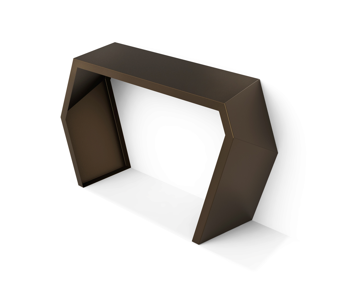 Modern Metal Console table -