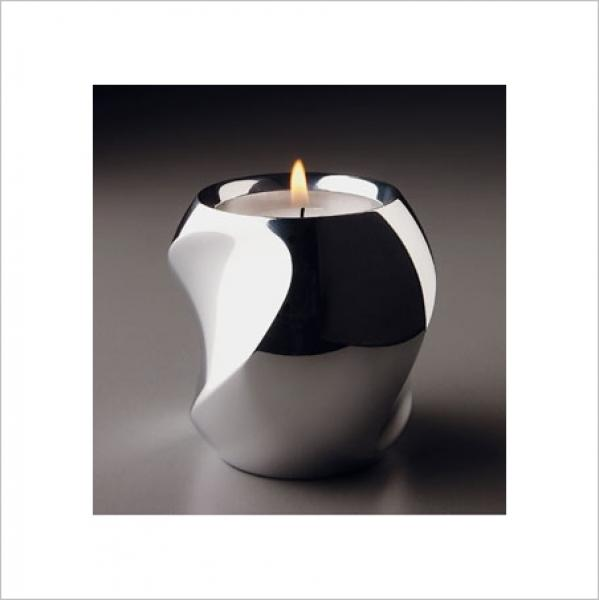 Modern Metal Candleholder :  home lighting nambe twist votive candleholder modern metal candleholder fred bould twist votive candleholder