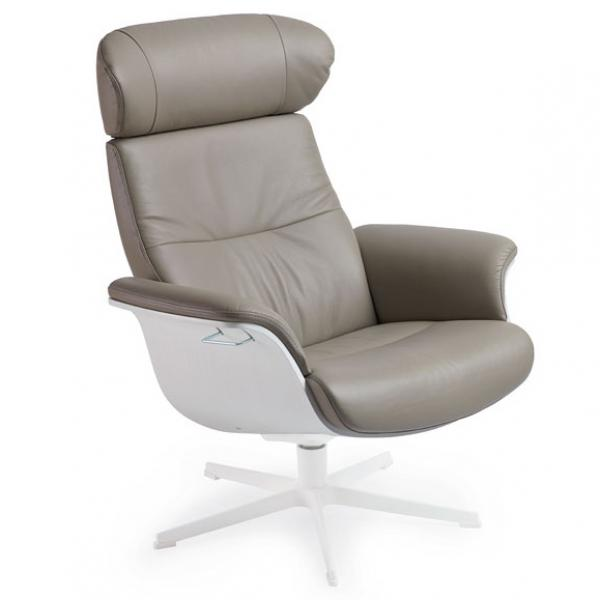 Timeout Reclining Lounge Chair White