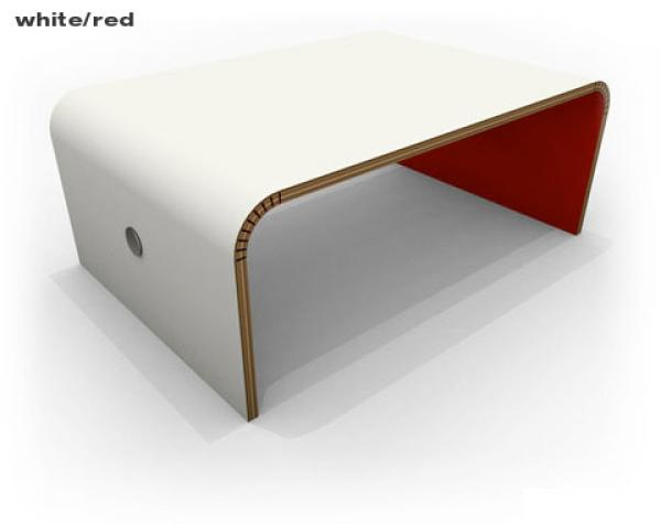 Floppy coffee table