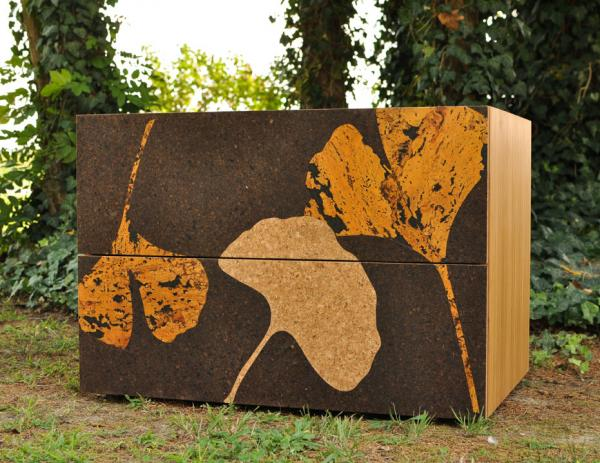 Cork Gingko Lateral Filing Cabinet