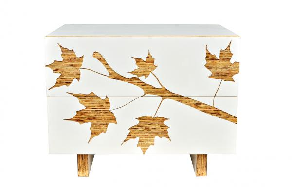 Trees Graphic Nightstand