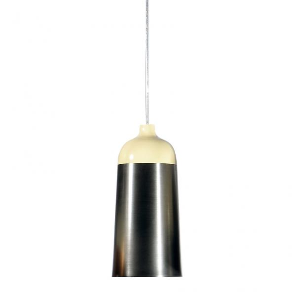Glaze 14 Pendant Light Cream & Charcoal
