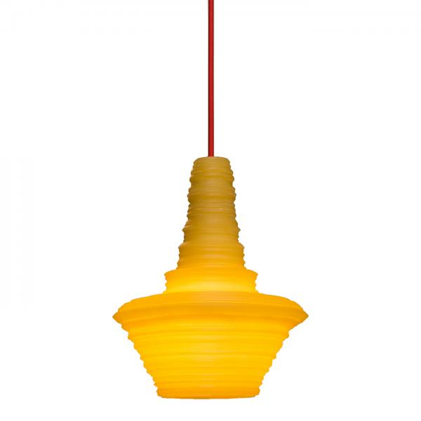 Stupa Small Pendant Light Yellow