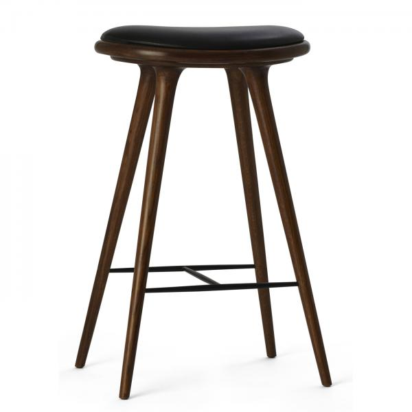 Mater Bar Stool Brown Stained Oak