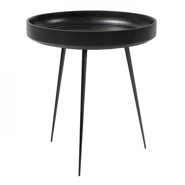 Mater Bowl Side Table Black