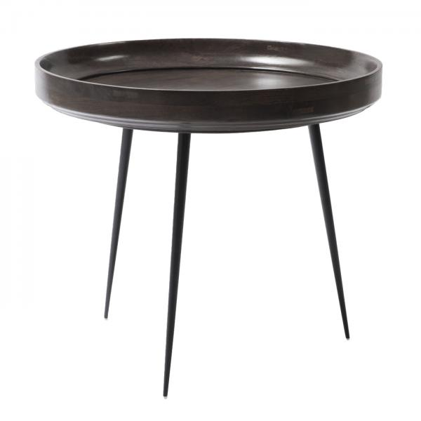 Mater Bowl Table Large Grey Stain