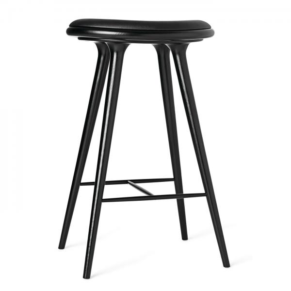 Mater Counter Stool Black Stained Oak