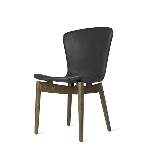 Mater Shell Dining Chair Leather