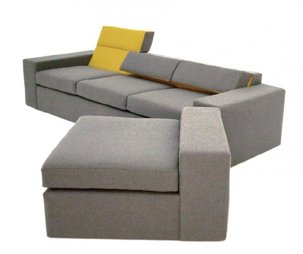 Mirror Sectional Sofa
