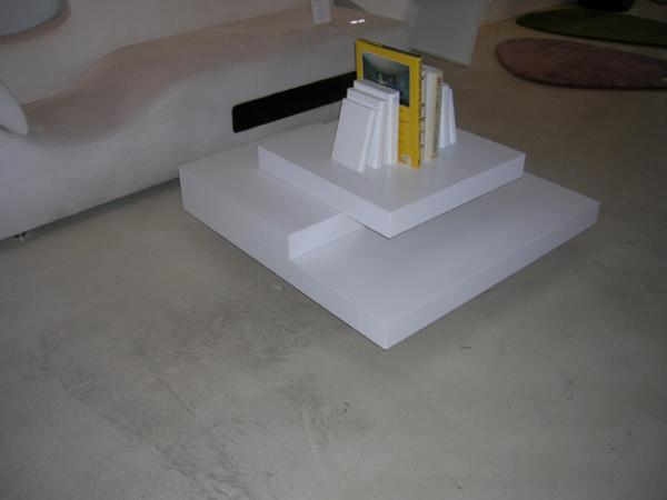 Slate White Coffee Table