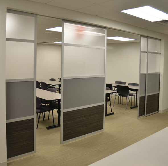 Door Separator Room Separator Ideas: LOFTwall Glide Modern Sliding Screen System
