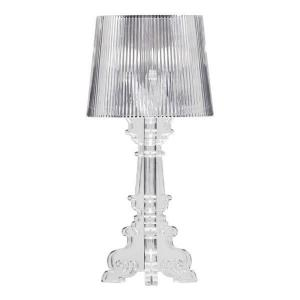 Salon small table lamp clear