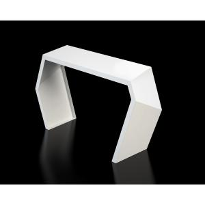 modern console table white