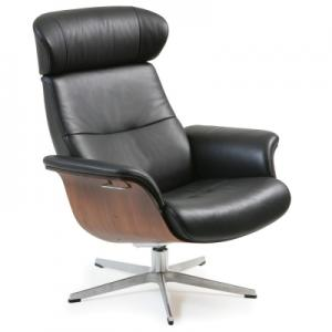 Conform Reclining Lounge Black