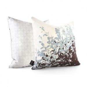 Foliage Pillow in Aqua