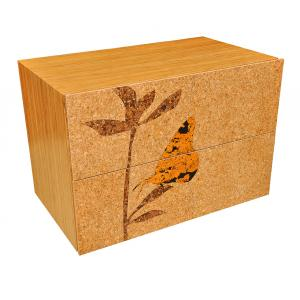 Cork Butterfly Lateral Filing Cabinet