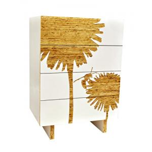 Dandelion Graphic Tall Dresser