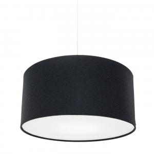 Kobe Pendant Medium Charcoal Wool