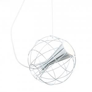 Latitude Pendant Light White