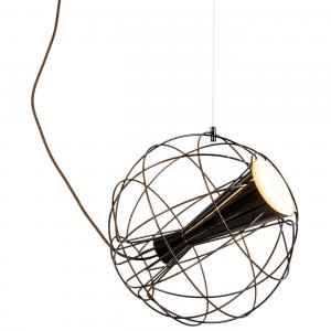 Latitude Pendant Light Black