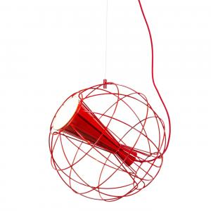 Latitude Pendant Light Red