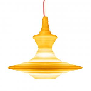 Stupa Large Pendant Light Yellow