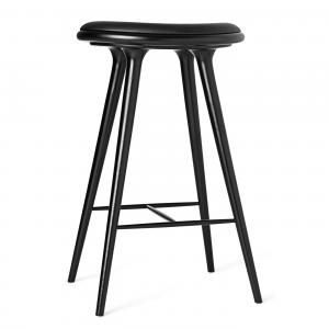 Mater Bar Stool Black Stained Oak