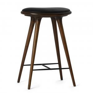 Mater Counter Stool Dark Brown Oak