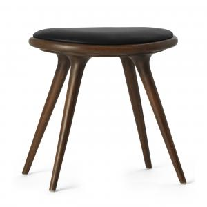 Mater Low Stool Brown Stained Oak