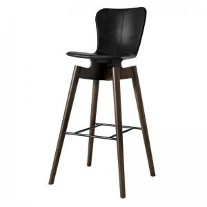 Mater Shell Bar Stool Black