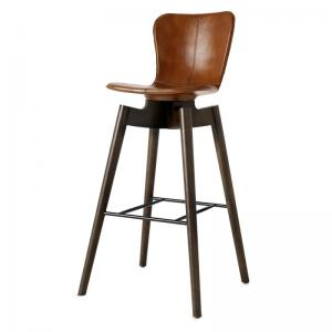 Mater Shell Bar Stool Brown