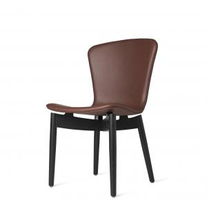 Shell Dining Chair Cognac Leather