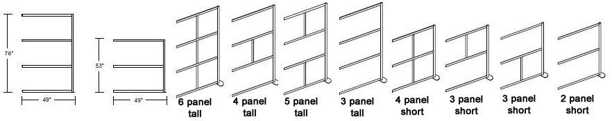 modern room divider lines