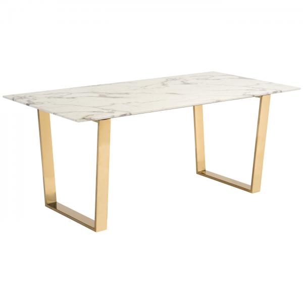 Atlas Dining Table Gold Base