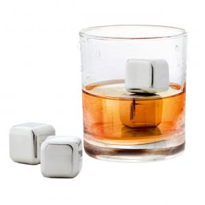 Lounge Stainless Ice Cubes