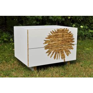 Dandelion Graphic Nightstand
