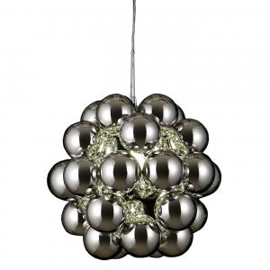 Beads Penta Pendant Light Chrome