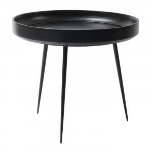 Mater Bowl Table Large Black Stain